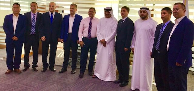 Dubai Council for Marine & Maritime Industries (DCMMIemirates) members meet with the visiting Chinese delegation in Dubai